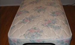 fully adjustable bed with remote. Head raises, foot raises, three vibration settings