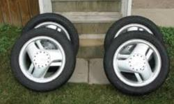 Bought Tires in November, Like new, with rims! Tires on Sunfire, GT rims! Tires no longer needed got newer car for christmas! Priced for fast Sale!