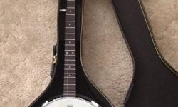 Alabama banjo with hard shell case for sale. Just bought this about 6 months ago. Still in excellent condition. Please contact if interested. This ad was posted with the Kijiji Classifieds app.