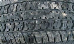 4 Tires and Rims from a Ford Ranger.