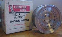 Four(4) aluminum Centerline Pro Truck wheels 15 x 7 (5 x 4.5).Like new. Excellent condition. Will take best resonable offer
