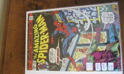 Seasons Greetings!  I am offering for sale a collection of Amazing Spider-Man Comics.  There are around 100-150 comics from this original series.  Included in the set are 5 or 6 Certified issues by C.G.C. company.  I also have many comics from