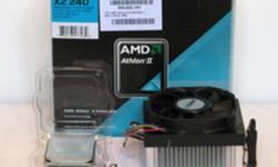 AMD CPU Athlon II X2 240 and a DVD writer