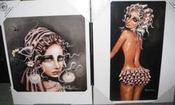 Variety of Angelina Wrona Prints - $12.99 each.  Station Mall