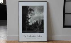 """Image 19.5""""x24.5"""" Framed 26""""x36"""" Purchased at Ansel Adams Art Gallery in Yosemite National Park Excellent condition."""