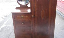 Antique Armoire, This is a GREAT PIECE Take a look at the pictures. When you buy it I will Deliver it for Free Contact Hans 705-737-3870