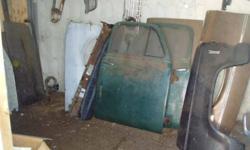 57 Chev Car hood $75, 75 Vette rear bumper assy $200, Hurst T-Tops $150, 61 Cady grille $100, 74 Camaro header $100 , 48 to 54 GMC doors $75ea, 69Firebird rt fender $100, 61 Impala hood $75, 62 Chevy II hood $75, 64 Ford rt fender $50, 74 Challenger