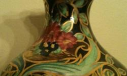 Beautiful H.B Quaregnon Belgium company hand decorated vase This ad was posted with the Kijiji Classifieds app.