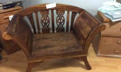 Bench, chaise lounge? Old hand sawn no history.