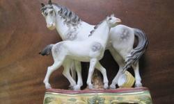Antique Bisque horses For Sale, $185.00
