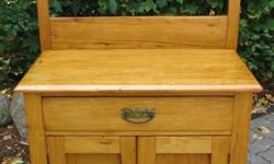 Need a storage cabinet, bedside table, or a spot for your flat screen TV? Here are some 19th century pieces that I refinished during my retirement. They would look nice in your home, cottage, or condo. Prices range from $350 to $998 (for the large pine