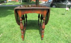 Very functional antique gateleg table. I inherited the item and have no place for it in my home. It is very rare and in beautiful condition.