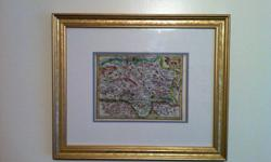 Offered for sale is a very old map by Gerard Mercator.  The map was printed in 1628 and it shows the area of Stiria, which is modern day southern Austria and northern Italy.  Map is in excellent condition with early hand colouring.  Map is presented in a