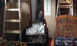 Antique mirrored hall stand OBO