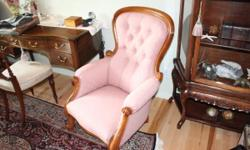 TOTALLY REDONE, UPHOLSTERY AND WOOD WORK. EXCELLENT CONDITION.