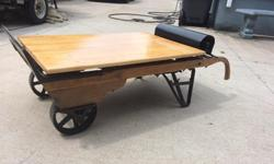 Up for sale is my scale / coffee table / conversation piece ! Hard to come by , these can weigh up to 2000 lbs !! Fully functional asking 600.00 .