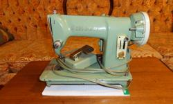 Antique Singer Sewing Machine available.