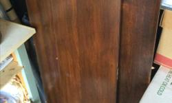 Beautiful antique table and 6 chairs. Over 100 years old and comes with 3 leafs for it as well. Table is in near perfect condition and very solid. Chairs have a few bumps and scrapes from age and use but also very solid and beautiful. Also has a matching