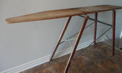 Antique Wood Ironing Board $20