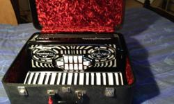 Antonelli accordion for sale. Professional model, hardly used. Comes with case and music books. Has 11 treble switches and 3 bass switches. New condition. $1500.00. Original cost was $3000.00. Call John at 613-446-0199.