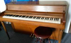 Schubert apartment size upright piano. Free. Email or phone for more information. If you phone, ask for Wally or leave a message.