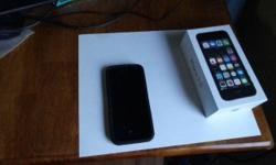 Brand New Apple IPhone 5S 16GB (Bell/Virgin) 100% Mint condition no scratches no marks of any kind It comes with a 1 year apple warranty till June 27 2017 All contents in box unused (usb to lightning, charger, headphones) Incl: case W/Beltclip + colored