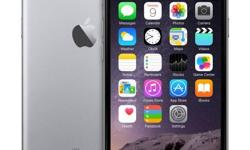 """For Sale: *** If ad is still up product is available! **** Apple iPhone 6, 16GB. Space Gray coloured model (MG3A2CL/A). This is the model iPhone with the new 4.7"""" screen, TouchID with Apple Pay sensor. This phone is unlocked and will work with many GSM"""