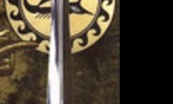 """""""ARGO the SWORD OF JASON"""" by UNITED CUTLERY This sword commemorates this journey and the high adventure which it entailed. The Argo sword takes its name from the study ship which carried Jason and his men on their heroic quest. Translated, Argo means """"the"""