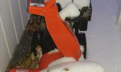"Excellent Condition. Ariens Deluxe ST24LE (24"") 254cc Must See. Call 613-883-2010"