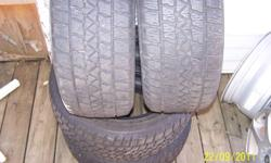 """Four 16"""" ARTIC CLAW snow tires, 205-55-R16 one season , tranny went in the car sold the car don't need the tires any more. Still have the nubbies on them. Call me at 289-260-5002 if you want  to look at them,"""