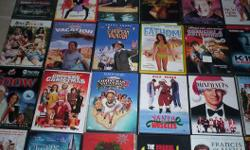 All in excellent working condition. Each DVD is $3.00. Will sell 4 for $10.00 or 10 for $20.00.