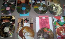 There is 20 cd's in total. All are in excellent condition. Came out of a jukebox.