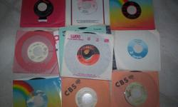 All are in excellent condition. Each record is $1.00. Easy listening, pop, disco and some country.