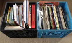 Retired 2/3 Teacher downsizing!  Huge Lot of over 150 Children's books.  Authors include Eric Carle, Jan Brett, Lois Ehlert, Jan Berenstein and many many more!  Both hard and soft cover books.  Some with audio tapes.  All in good condition!  Expand your