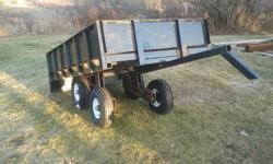 New atv utility trailer tandem tilt trailer on or off atv 4x8 fold down tailgate rocker arm suspention