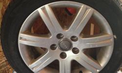 Michelin 205/55P 16 91H Audi Tires on Audi Rims