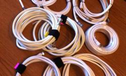 Variety of cables coaxial cables speaker wires Will take offers.