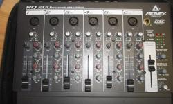 peavey RQ 200, 6 channels, new condition power supply included or you can use batteries