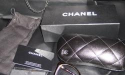 selling a almost brand new CHANEL glasses 2011 style, 100% authenic, with prescription glasses, bought for the wife as a gift, she worn couple times and its too big for her, pair over $300 for it, selling $200 cash firm, comes with everything as new,