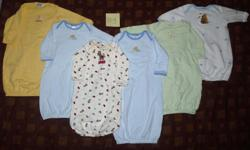 Come pick and choose from our entire collection of gently used and new baby clothing... a collection of three families' entire lots! ALL boys and unisex! We have a large collection of baby/infant clothing size Newborn up to 18months for spring/summer.