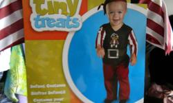 Pirate 12-18 Months Little Bite Vampire 12-18 Months Teeny Weeny Witch 12-18 Months Babybug Ladybug 3T-4T   All costumes are brand new and are $5 each Email:costumes2011@hotmail.ca