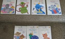 $35.00 for ALL Baby Einstein DVD's ~ Great condition. My Children Loved them!   *Numbers Nursery A playful and interactive introduction to numbers   *Baby Neptune Discovering Water, From Beach to Bath ~ a musical voyage   *Baby da Vinci From Head to Toe,