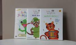 Set of 3. * Numbers Nursery * World Animals * Baby Shakespeare Excellent condition - never handled by children.