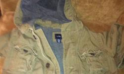 Baby gap cost size 3 t. Green khaki color. Gently used. Paid over 60 and willing to let go for 35 ! Can be for a boy or girl! Very trendy! This ad was posted with the Kijiji Classifieds app.