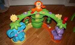 I have many baby items and toys for sale -- all in as new or excellent condition, from clean, smoke-free home. Will sell separately or make me an offer if you want more than one or all of them. Pictures are in corresponding order (last 2 wouldn't fit -