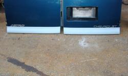2 back doors (dutch) for a 2000 Astro van. Cadet blue. $250