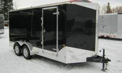 """PREMIUM SLED, QUAD & MOTORCYCLE HAULERS built by MTI with Extra Height 6'6"""" INTERIOR!!!    Sold by: Legend Trailers Inc. 10A Legend Trail (Just North of Wood Avenue) Stony Plain, Alberta   http://www.legendtrailers.ca   Call Toll Free 1-877-646-0012 or"""