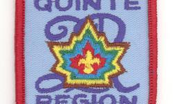 Scouting Memorabilia   Badge - Scouts Canada - Quinte Region           Scouts ? Canada ? Beavers ? Cubs