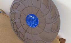 Made by FitterFirst Brown plastic platform on semi circular base Improve your balance!