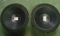 In great cosmetic and working condition. Heavy duty with rubber surrounds. Asking $80